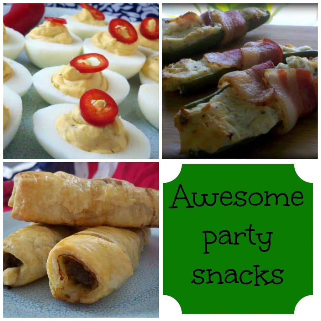 Awesome Party Snacks