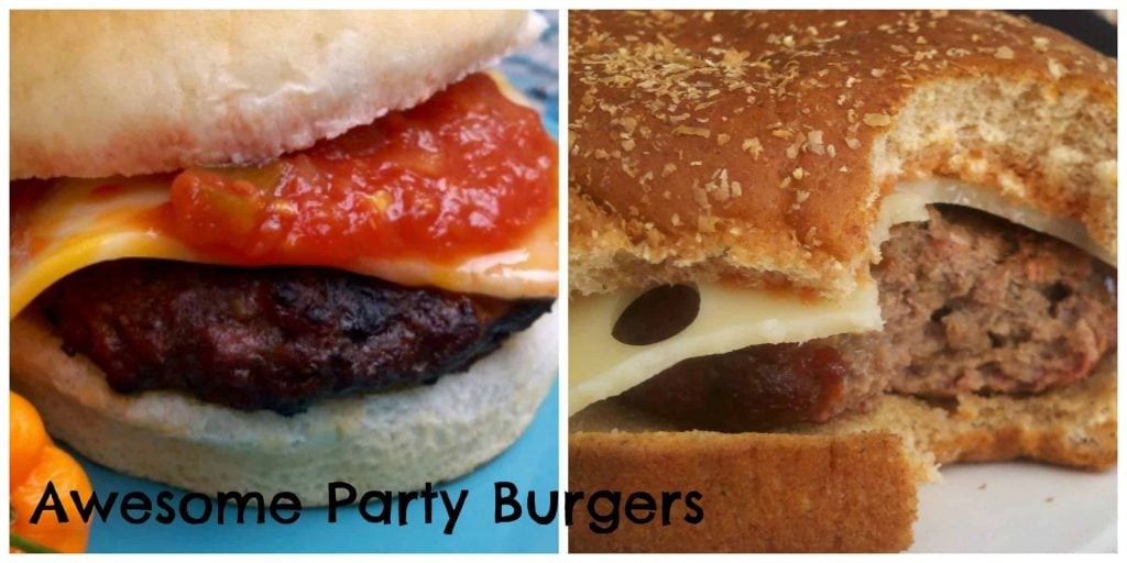 Awesome Party Burgers