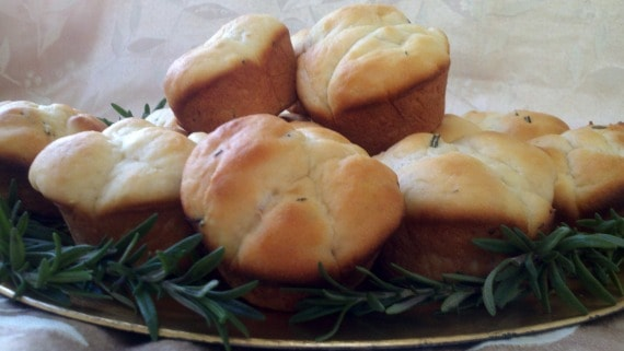 Rosemary Potato Rolls from Awesome on 20