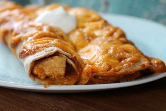 Picky Eater Chicken Enchiladas from Awesome on 20