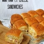 Mini Ham and Cheese Sandwiches from Awesome on 20