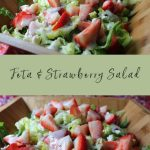 Feta & Strawberry Salad | How to Be Awesome on $20 a Day