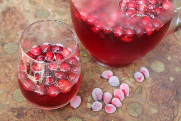 Poinsettia Champagne Cocktail | How to be Awesome on $20 a Day