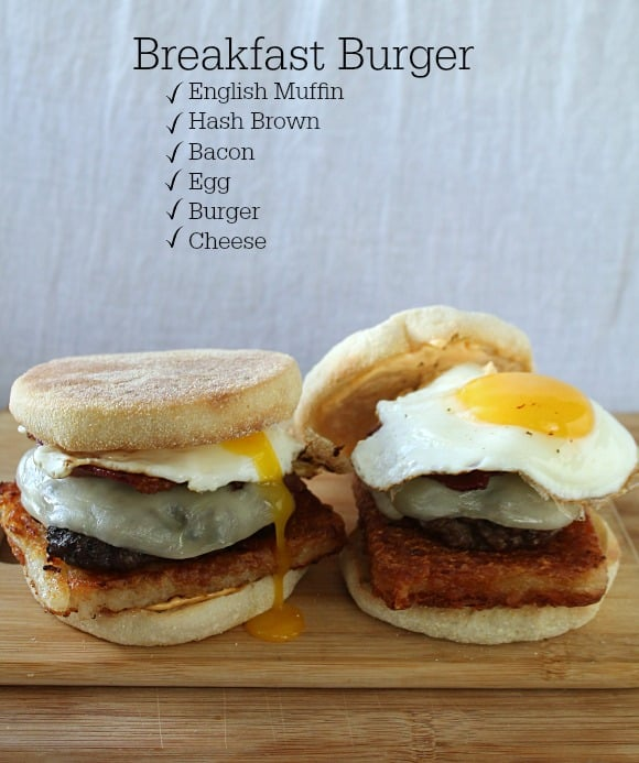 Breakfast Burgers | How to be Awesome on $20 a Day