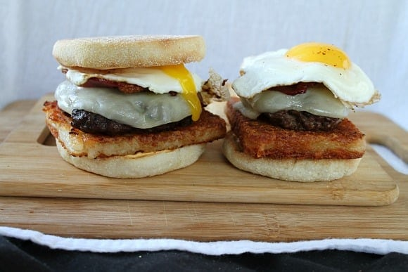 Breakfast Burgers   How to be Awesome on $20 a Day