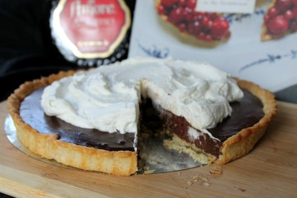 Chocolate Amaretto Tart | How to be Awesome on $20 a Day