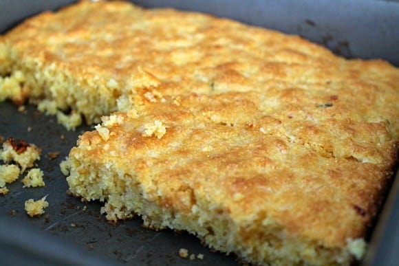 Cheddar Habenero Corn Bread   How to be Awesome on $20 a Day