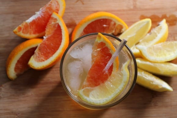 Citrus Gin Fizz | How to be Awesome on $20 a Day