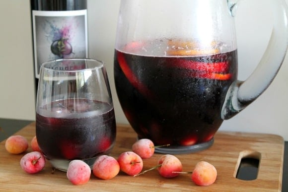 Cherry Orange Sangria | How to be Awesome on$20 a Day