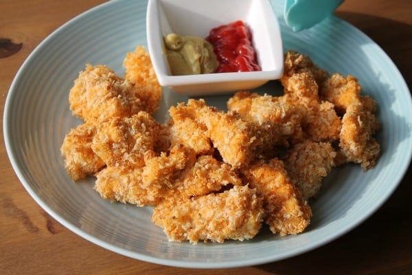 Baked Chicken Parm Nuggets | How to be Awesome on $20 a Day