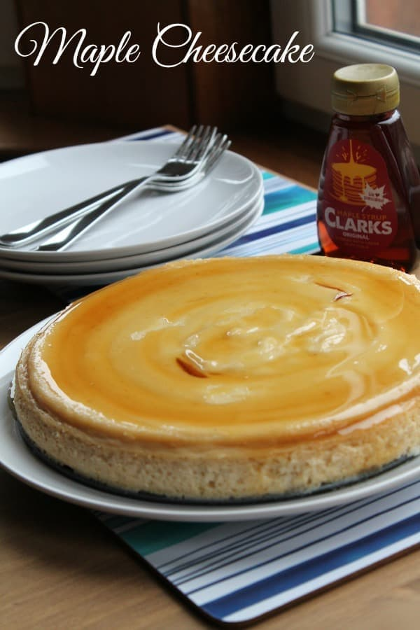 Maple Cheesecake   How to be Awesome on $20 a Day
