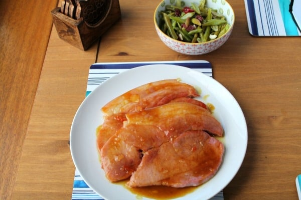 Ginger-Glazed Gammon Steaks | How to be Awesome on $20 a Day