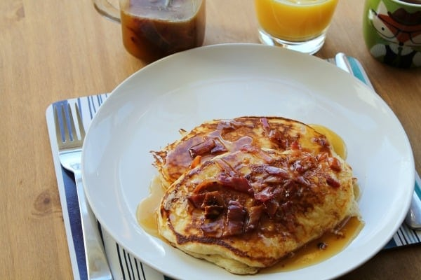 Maple Bacon Pancake Syrup   How to be Awesome on $20 a Day