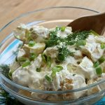 Dill Potato Salad | How to be Awesome on $20 a Day