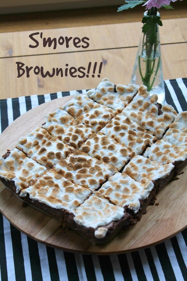 S'mores Brownies | How to be Awesome on $20 a Day