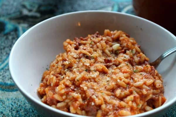 Risotto Bolognese | How to be Awesome on $20 a Day