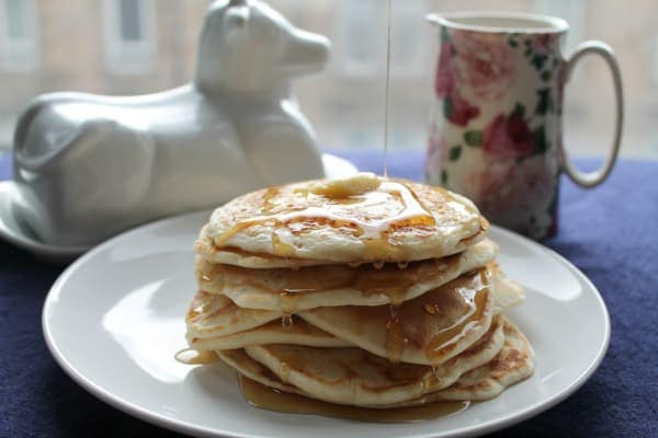 Blender Pancakes | How to be Awesome on $20 a Day