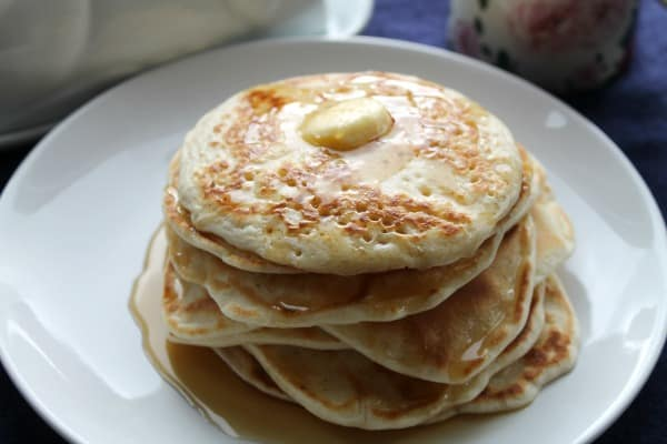 Blender Pancakes   How to be Awesome on $20 a Day