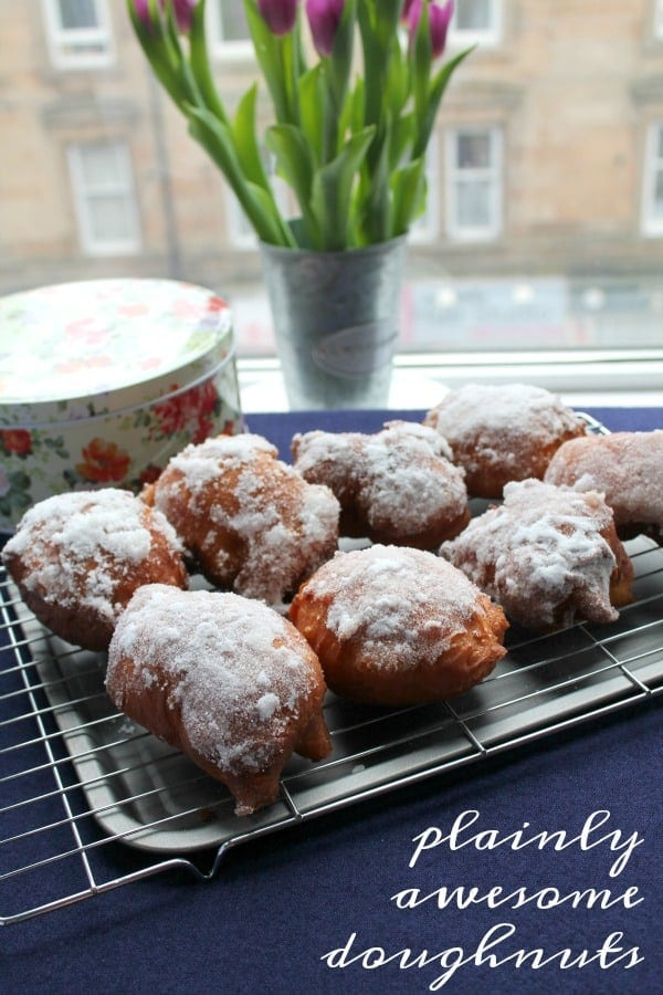 Plainly Awesome Doughnuts   How to be Awesome on $20 a Day