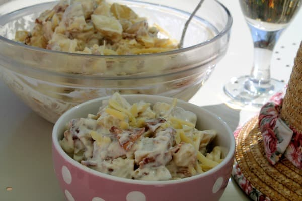 Loaded Baked Potato Salad | How to be Awesome on $20 a Day