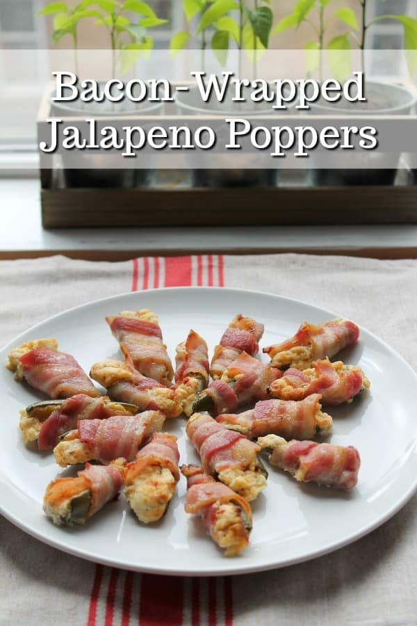 Bacon-Wrapped Jalapeno Poppers | How to be Awesome on $20 a Day