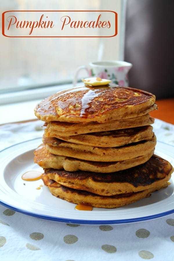 Pumpkin Pancakes | How To Be Awesome on $20 a Day