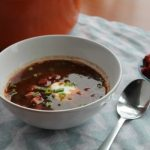 Black Bean & Chorizo Soup | How to be Awesome on $20 a Day