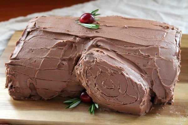 Buche de Noel   How to be Awesome on $20 a Day