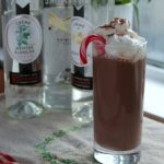 Chocolate Candy Cane Cocktail | How to be Awesome on $20 a Day