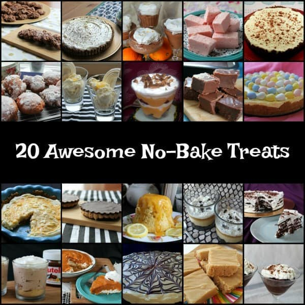 20 Awesome No-Bake Treats