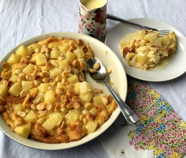 Hawaiian Bread Pudding   How to be Awesome on $20 a Day