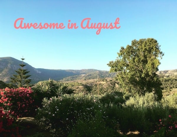 Awesome in August