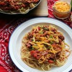 Cowboy Spaghetti   How to be Awesome on $20 a Day