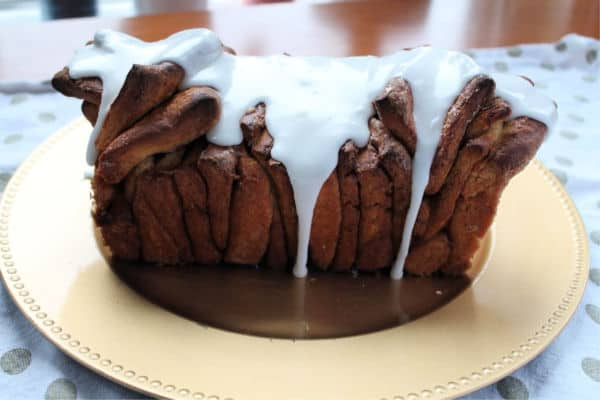 Cinnamon Pull-Apart Cake | How to be Awesome on $20 a Day