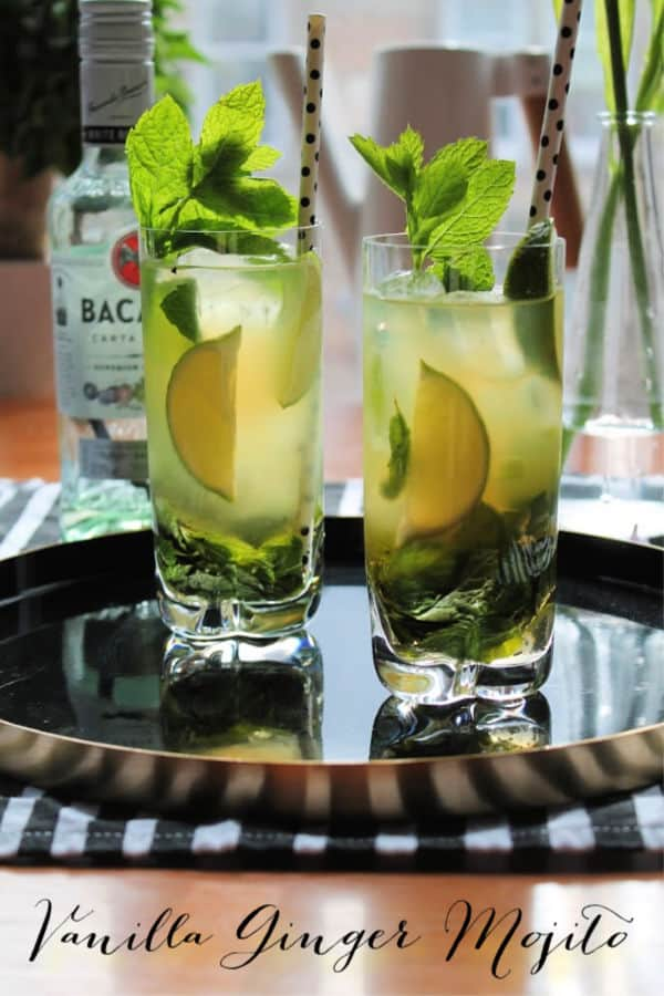 Vanilla Ginger Mojito | How to be Awesome on $20 a Day