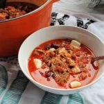 Cheesy Chorizo Chili | How to be Awesome on $20 a Day