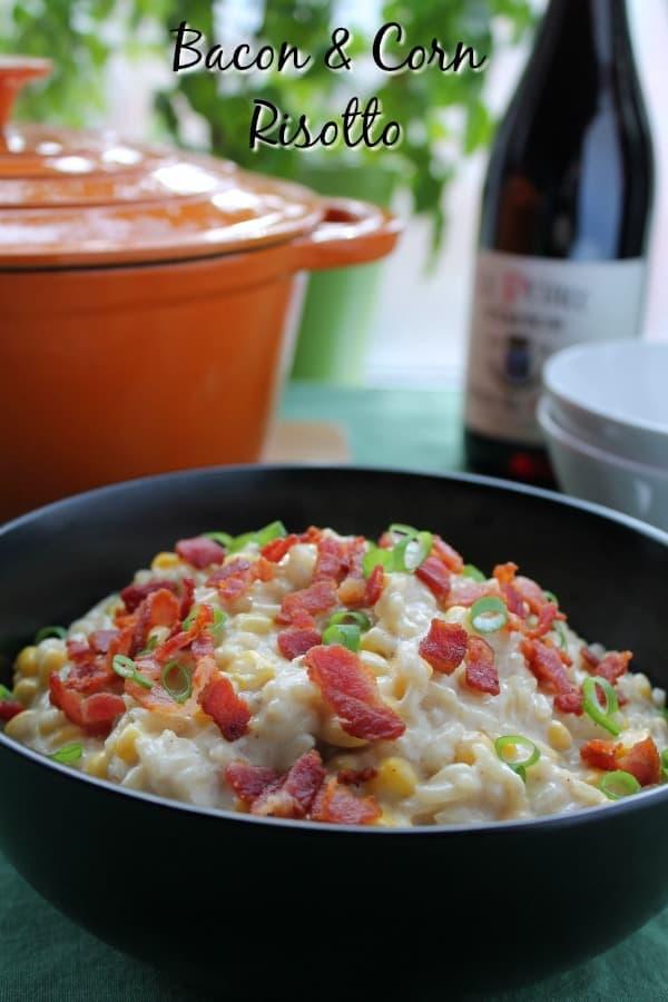 Bacon & Corn Risotto