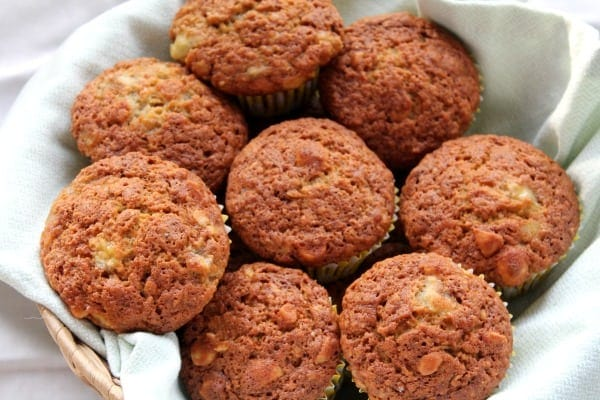 Banana Macadamia Nut Muffins | How to be Awesome on $20 a Day
