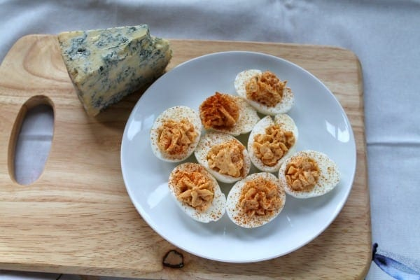 Buffalo Deviled Eggs   How to be Awesome on $20 a Day