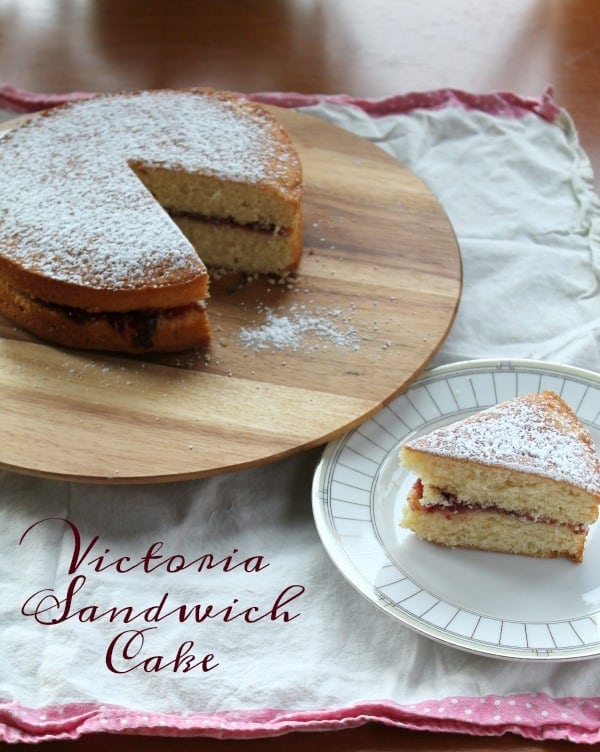Victoria Sandwich Cake | How to be Awesome on $20 a Day