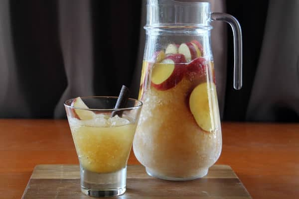 Apple Brandy Frozen Punch   How to Be Awesome on $20 a Day