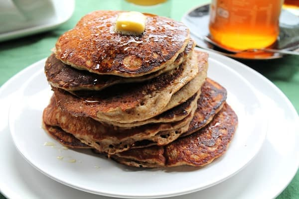 Honey Whole Wheat Pancakes | How to Be Awesome on $20 a Day