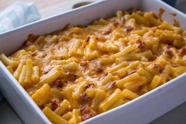 Chorizo Mac & Cheese