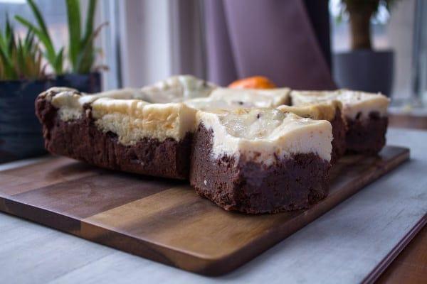 Orange Cheesecake Brownies
