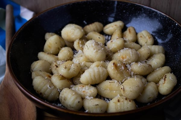 Parmesan Fried Gnocchi   How to Be Awesome on $20 a Day