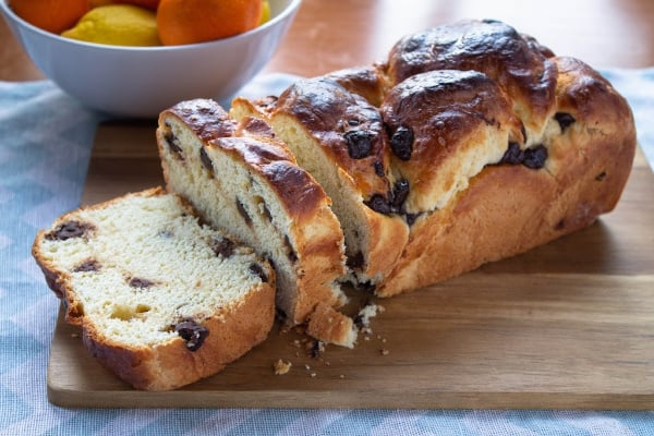 Satsuma & Dark Chocolate Brioche | How to Be Awesome on $20 a Day