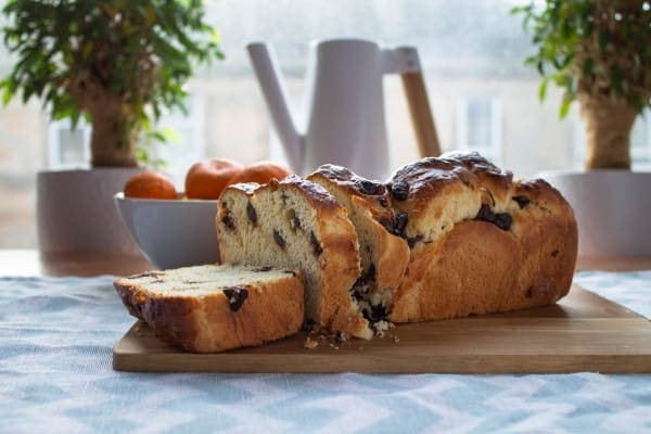 Satsuma & Dark Chocolate Brioche   How to Be Awesome on $20 a Day