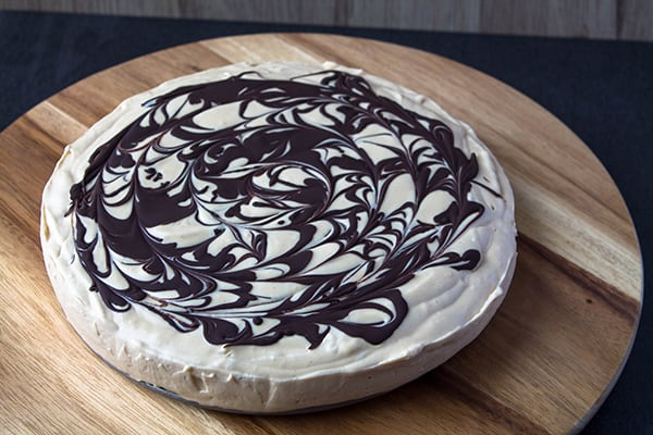Chocolate Peanut Butter Pie   How to Be Awesome on $20 a Day