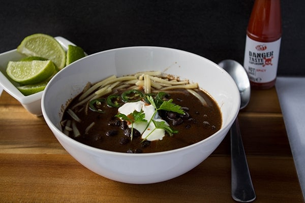 Black Bean Soup | How to Be Awesome on $20 a Day