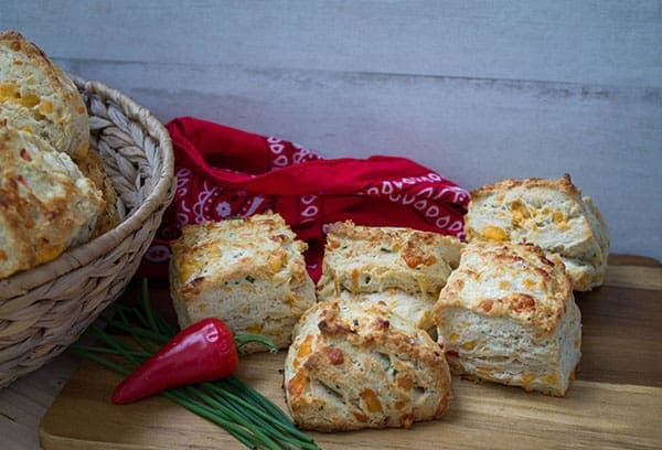 Cheddar Jalapeno Biscuits | How to Be Awesome on $20 a Day